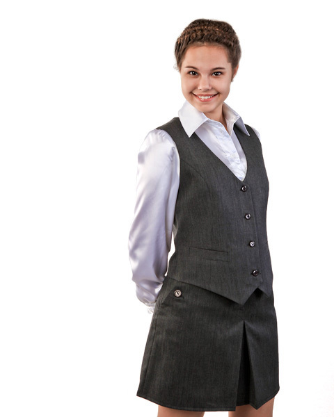 Школьная форма жилет для девочек - Лучшие жилеты здесь